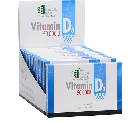 Vitamin D blister packet